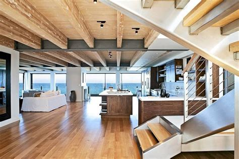 view interior of homes modern day malibu beach house combines modern interiors with unending ocean views decor advisor