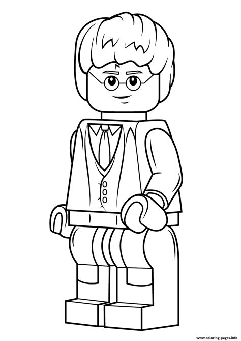 lego harry potter coloring pages printable