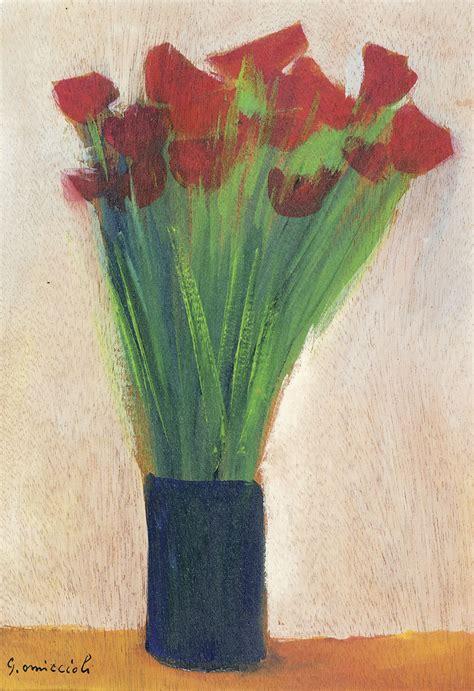 fiori nel vaso omiccioli fiori nel vaso arte moderna e