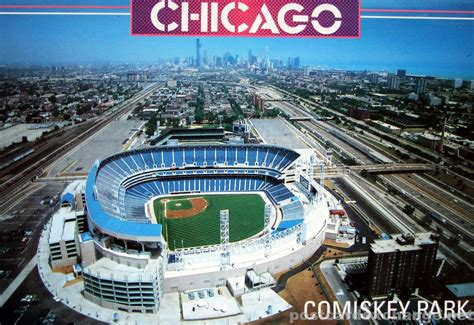 Find Chicago Comiskey Park Chicago Postcard Exchange Postcard Collection