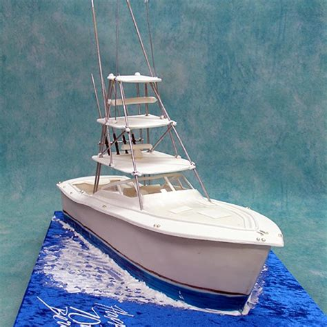 how to make a fishing boat cake topper boat cake boat cake 2 precious project on yribbon