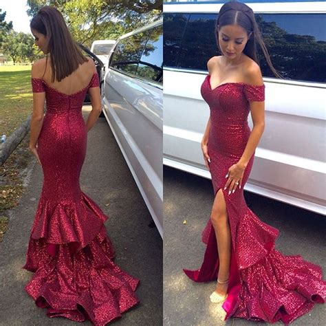cheap haircuts townsville modern high neck long sleeve mermaid evening dress with