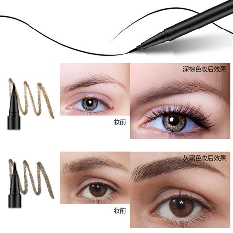tattoo makeup ebay waterproof brown 7 days eye brow eyebrow tattoo pen liner