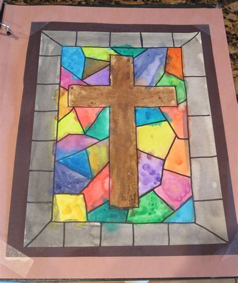 art projects teaching with tlc easter cross art project