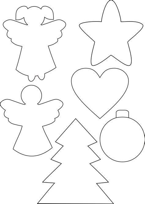 plantillas decoracion navidad christmas templates siluetas pinterest navidad