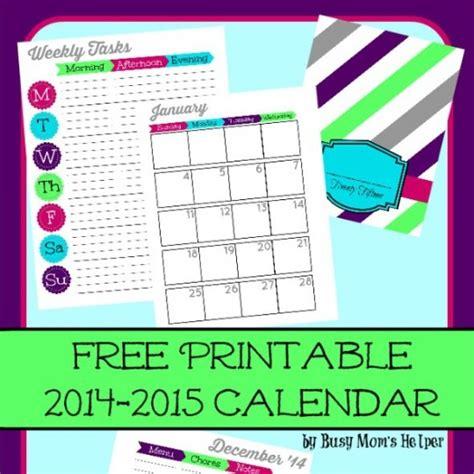 printable mom planner 2015 free printable 2015 planner busy mom s helper