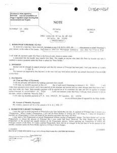 assignment of mortgage and promissory note blank