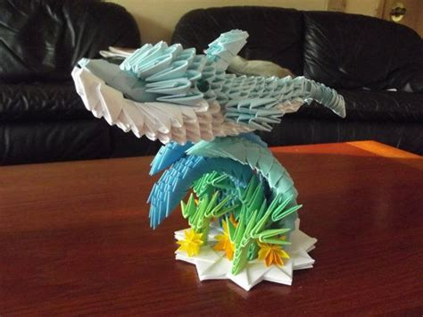 3d Origami Dolphin - the 1578 best images about 3d origami on