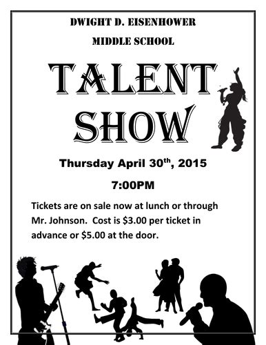 Talent Show The Kit To Run Your Event By Jonmayhew1234 Teaching Resources Tes Free Printable Talent Show Flyer Template