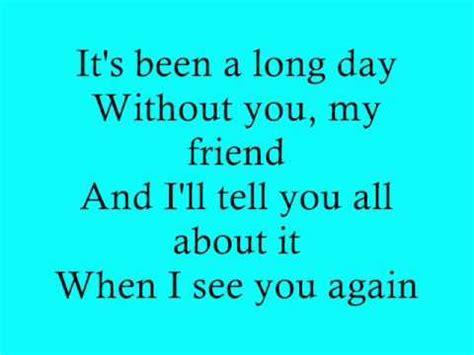 charlie puth see you again lyrics see you again by charlie puth lyrics full version no rap