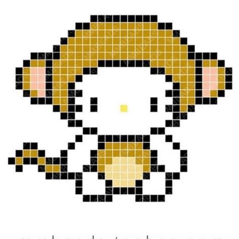 monkey pony bead pattern 1000 images about perler on perler bead