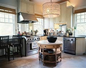 Rounded Kitchen Island by Round Island Home Kitchen Pinterest