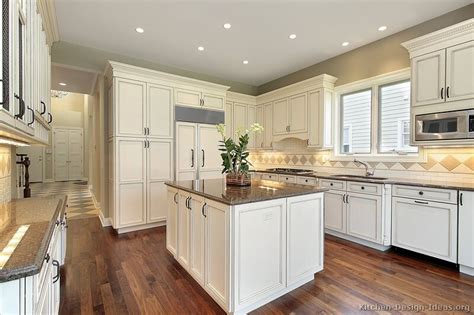 White Cabinet Kitchen Designs Pictures Of Kitchens Traditional White Antique Kitchen Cabinets Page 3