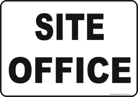 Office Site Site Office S2803 National Safety Signs