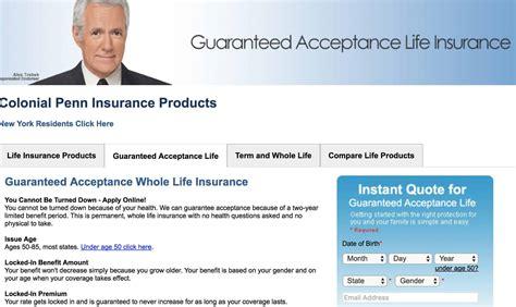 colonial penn life insurance     insurer