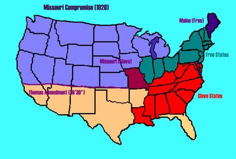 missouri compromise map activity map of missouri compromise rhetoricalgoddess wiki