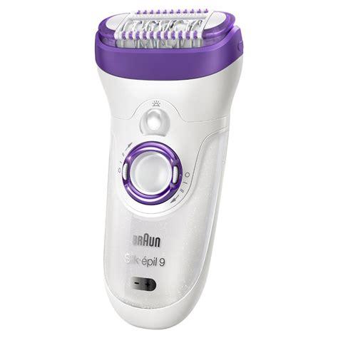 braun silk epil  epilator review  electric shaver
