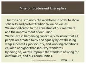union leadership strategic planning