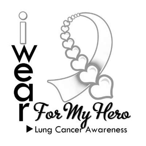color of lung cancer ribbon 84 best lung cancer awareness images on lung