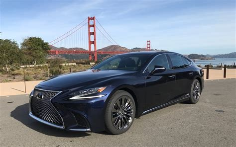 lexus ls colors 2018 lexus ls 500 more refined and more dynamic the car