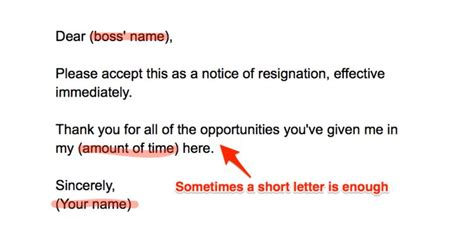 how to resign resignation letter template and guide jobsite