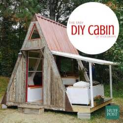 build your own a frame house stylehunter collective build your own cabin for 1200