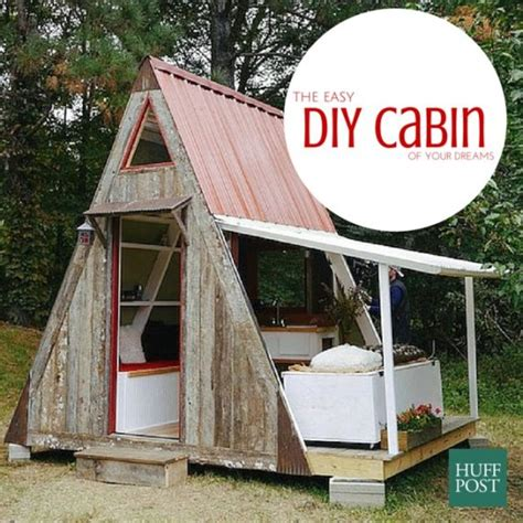 easy to build homes stylehunter collective build your own cabin for 1200