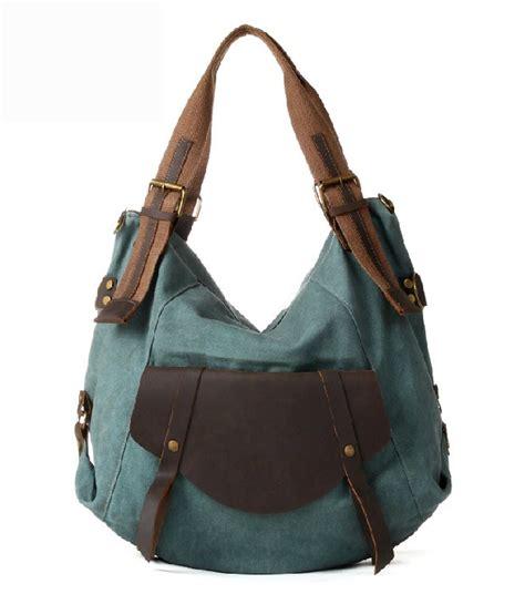 Purses And Bags - canvas purses handbags canvas leather messenger bag e