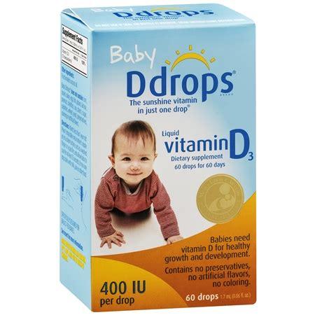 vitamin d supplement for infants ddrops baby vitamin d drops 400 iu walgreens