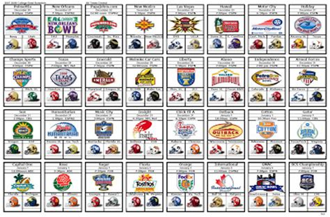 printable bowl game schedule 2014 7 best images of printable college bowl game schedule 2015