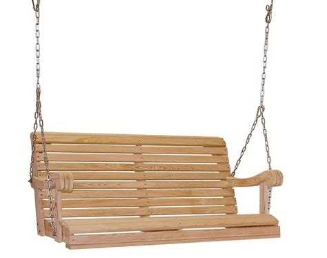 swing with chain amish made cypress 4 grandpa porch swing with chain