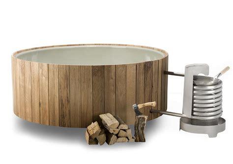 wood burning bathtub wood fired hot tub iconic dutchtub heats organically