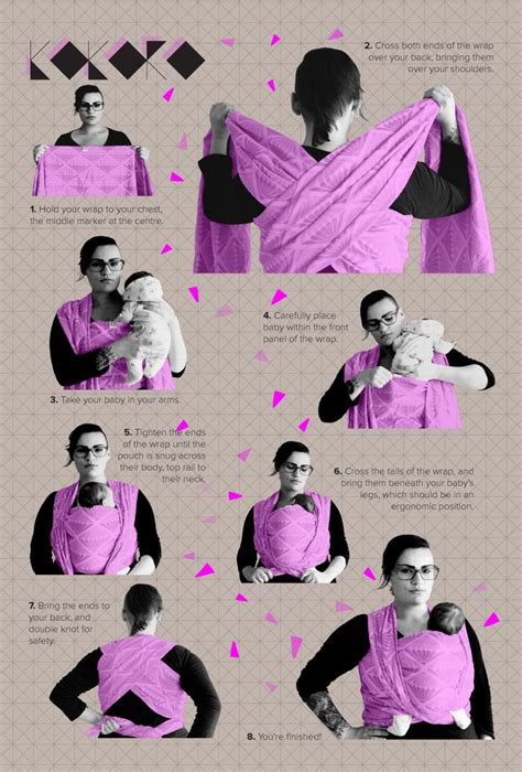 printable moby instructions 17 best ideas about baby wearing on pinterest moby wrap