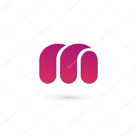 letter logo icon design template elements stock vector