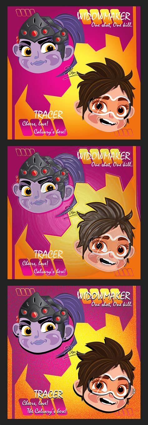 3d Design Website hiram luna tracer and widowmaker