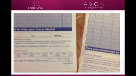 avon receipt template avon order form printable hardhost info