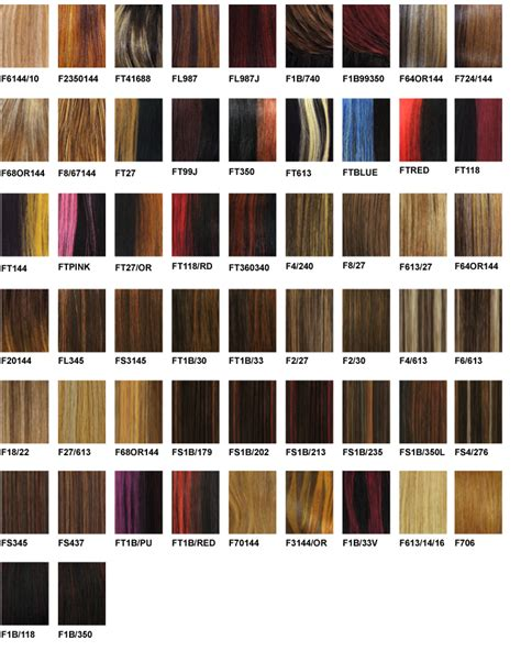 wig color chart harlem 125 color chart