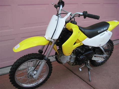 Automatic Suzuki Motorcycle 2005 Suzuki Dr Z 110 Automatic Dirt Bike Restored By