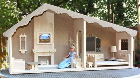 how to build a barbie doll house barbie dollhouse plans how to make