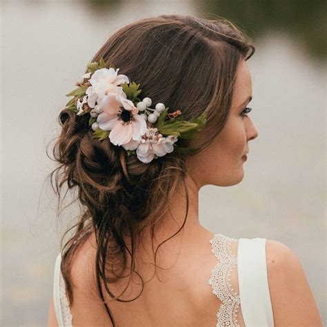 Wedding Guest Hair With Flowers annabelle flower hair comb by vintage