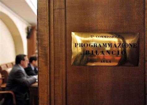 commissione bilancio comuni proroga al rendiconto di gestione 2016 province