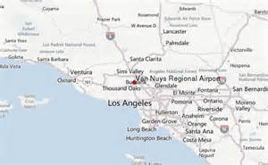 nuys california map nuys airport location guide