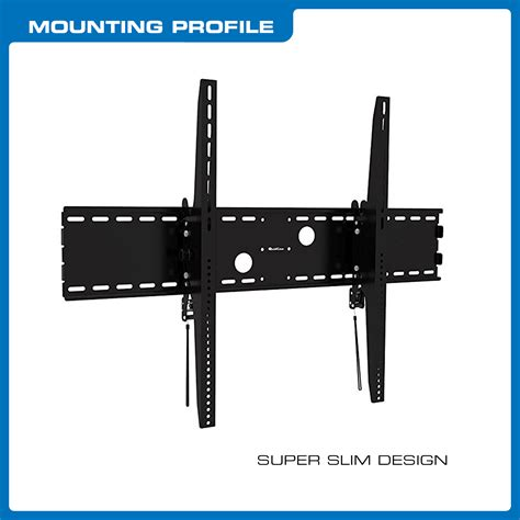 Telescopic Tv Bracket 18m Thick 100 X 100 Pitch For 10 26 Inch Tv Bla qualgear 174 heavy duty tilting tv wall mount for 60 100 inch