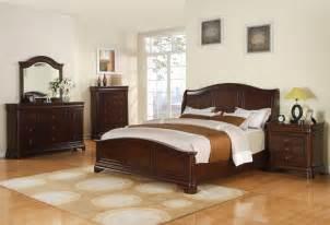cherry bedroom set cameron bedroom set dark cherry finish cm750qb