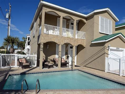 Luxury Beach Home Private Pool Spectacular Gulf Views House Rentals In Panama City Fl