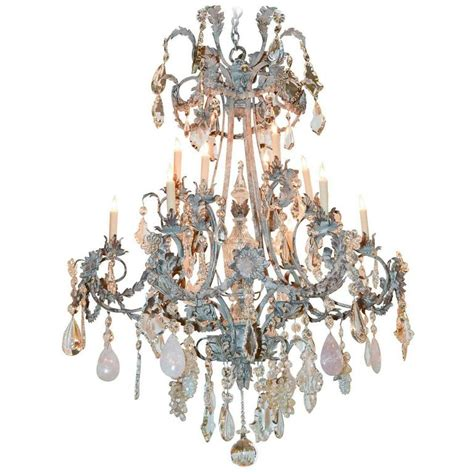 Custom Chandeliers Impressive Custom Quartz And Chandelier For Sale At 1stdibs