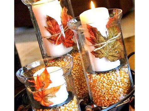 decorare candele candele autunnali fai da te donna moderna
