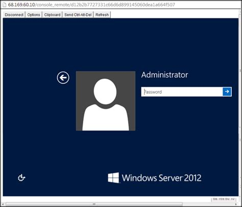 rdp console windows server 2012 connecting to your windows server