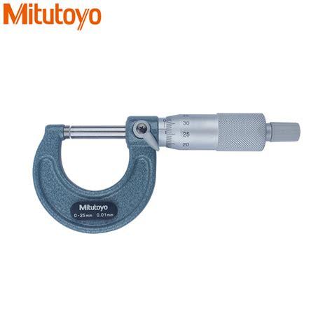 od micrometer 25 50 0 01mm 103 138 aliexpress buy original mitutoyo outside micrometer