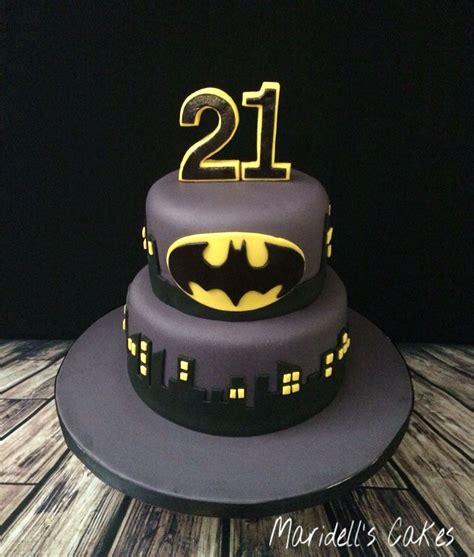Batman St  Ee  Birthday Ee   Cake Maridells Cakes Batman